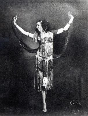 Ida Rubinstein in the role of Salome