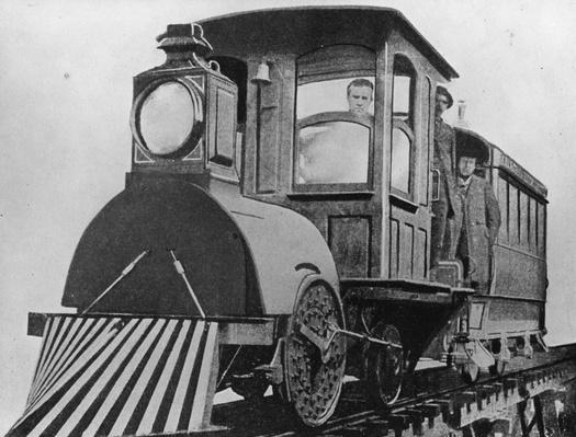 Edison's Locomotive | Industrial Revolution