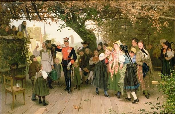 On Leave, 1883