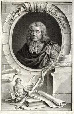 Thomas Sydenham, engraved by Jacobus Houbraken