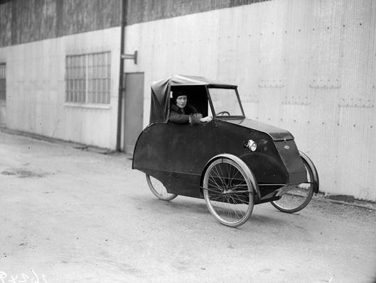 Pedal Power | Evolution of the Automobile