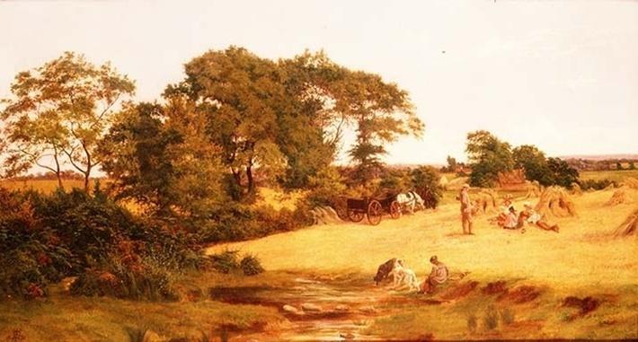 Cornfield in Essex, 1875