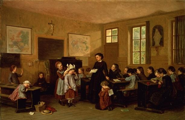 The naughty school children