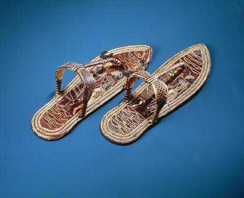 Sandals, Tomb of Tutankhamun, New Kingdom