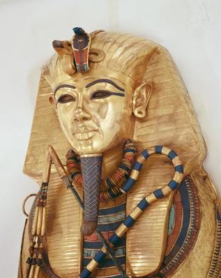 Innermost coffin of the King, Tomb of Tutankhamun