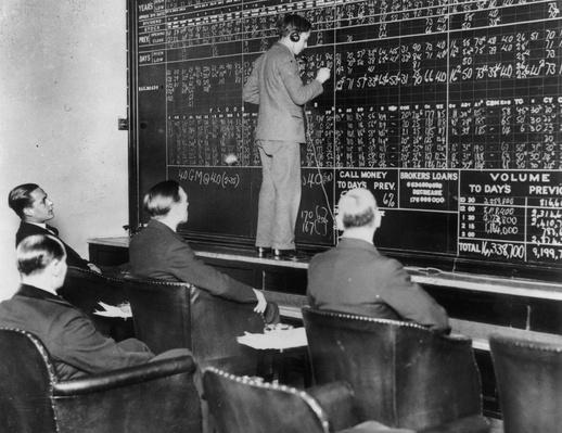 Shareholders   The Great Depression   U.S. History