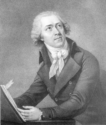Leopold Kozeluch, engraved by William Ridley, 1797