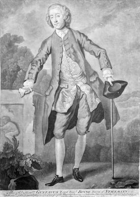 Gustavus Hamilton, engraved by Andrew Miller