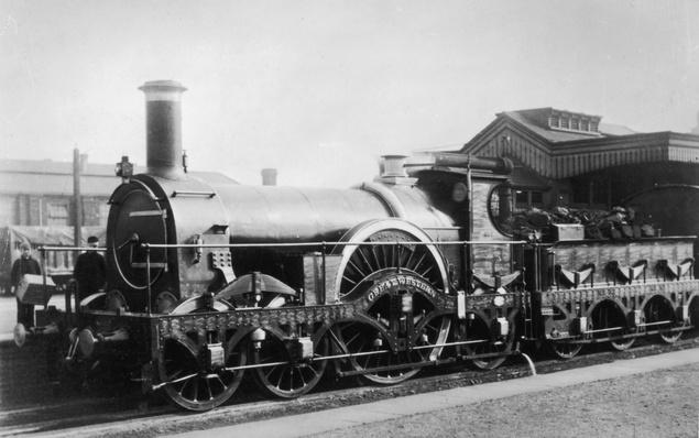 Broad Gauge Loco | Evolution of the Railroad (Engine)
