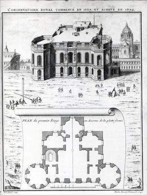 The Royal Observatory in Paris, 1741