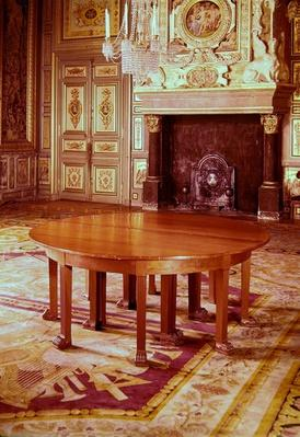 Round table in the style of the Directoire period, 1795-99