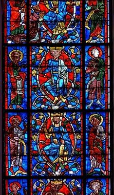Window depicting the Tree of Jesse