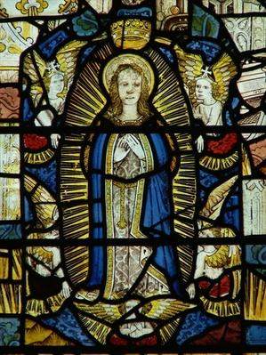 Window depicting the Assumption