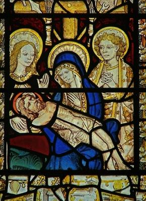 Window depicting Pieta