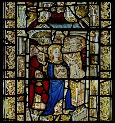 Window depicting the Purification