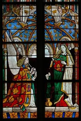 The Annunciation, from the Chapel of Jacques Coeur