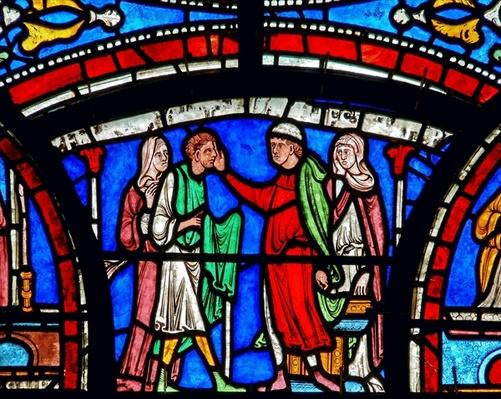 Detail from the Miracle Window