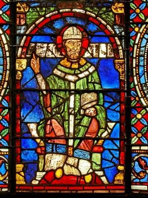 Window depicting St. Thomas Becket