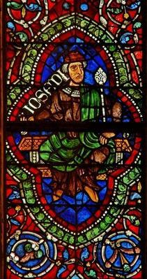 Window depicting a genealogical figure: Joseph