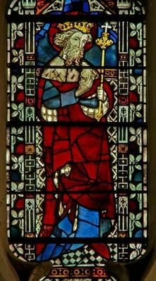 Window depicting Edward the Confessor