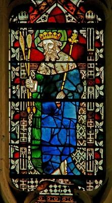 Window depicting King Edmund