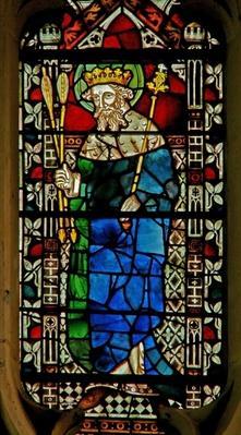 Window depicting King Edmund