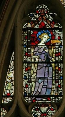 Window depicting St. Sidwell