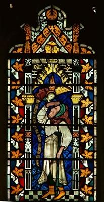 Window depicting Abraham