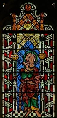Window depicting Isaiah