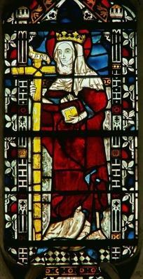 Window depicting St. Helen