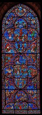 The Last Judgement window