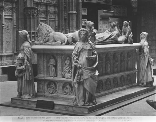 Nantes, St. Peter and St. Paul Cathedral, Tomb of Francis II, Duke of Brittany and Marguerite of Foix, 1502-07