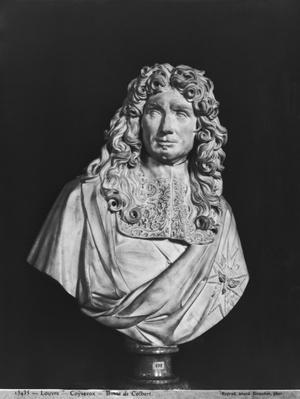 Bust of Jean-Baptiste Colbert de Torcy