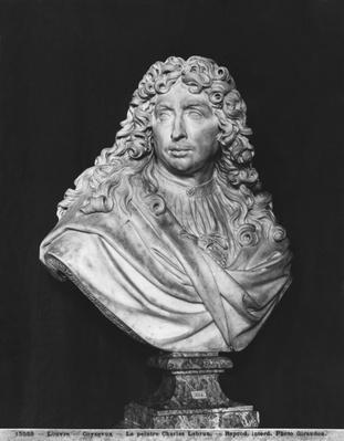 Bust of Charles Le Brun, 1679