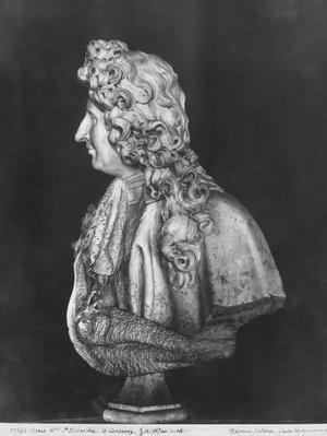 Bust of Jules Hardouin Mansart, 1698