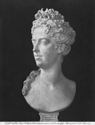 Bust of Marie-Adelaide de Savoie, Duchess of Burgundy, 1710