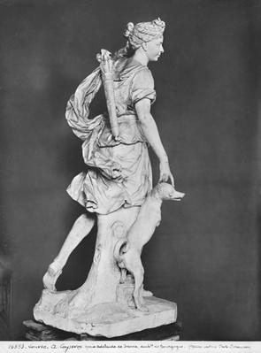 Marie-Adelaide de Savoie, Duchess of Burgundy, as Diana the Huntress, 1709