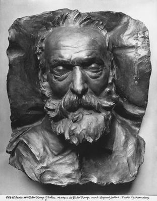 Death mask of Victor Hugo, 1885