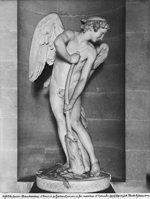 Cupid carving his bow from the club of Hercules, 1747-50