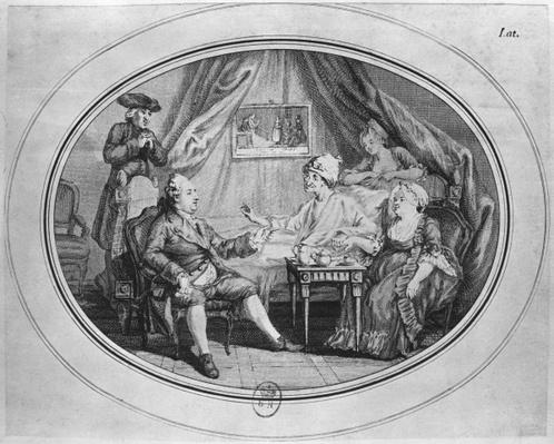 The Luncheon at Ferney, 4th July 1775