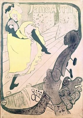 Poster advertising Jane Avril