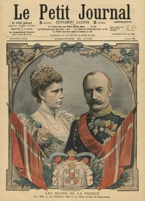 Guests of France, King Frederick VIII