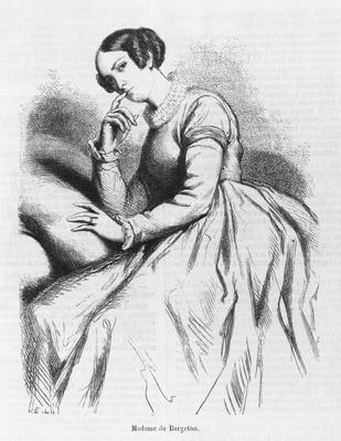 Madame de Bargeton, illustration from 'Les Illusions perdues' by Honore de Balzac