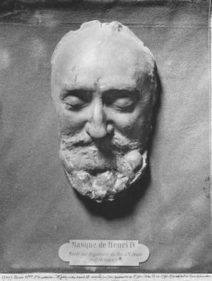 Death mask of Henry IV of France, 1793