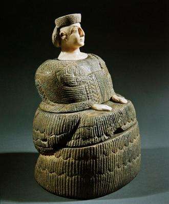 Statuette of a goddess wearing a kaunakes, known as 'Princess of Bactriane'