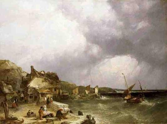 The Coast at Etaples, 1853