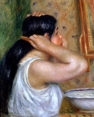 Girl Combing her Hair, 1907-8