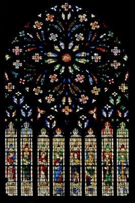 Rose window by Jean de Dampmartin