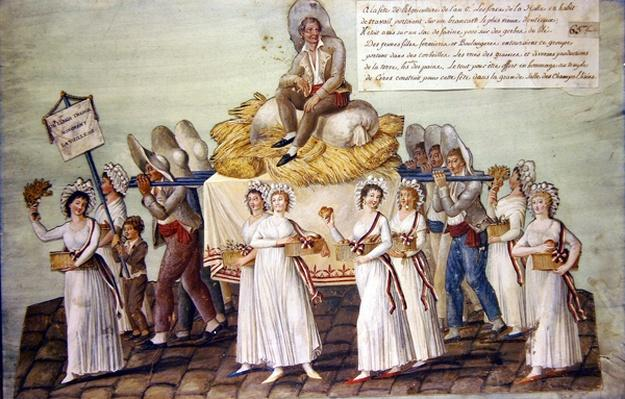 The Feast of Agriculture in 1796 at Paris