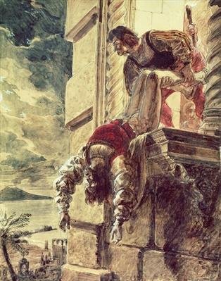 The assassination of Prince Andrew of Hungary at Queen Joan I of Naples behest, 18th September 1835
